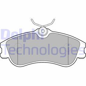 Bremsbelagsatz, Scheibenbremse Höhe 2: 56mm, Höhe: 56mm, Dicke/Stärke 1: 18mm, Dicke/Stärke 2: 18mm mit OEM-Nummer E172536
