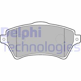 Bremsbelagsatz, Scheibenbremse Höhe: 62mm, Dicke/Stärke 2: 18mm mit OEM-Nummer 23615