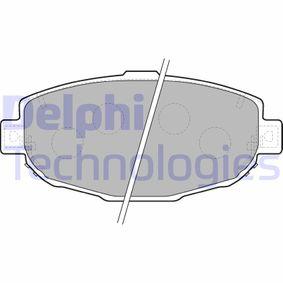 Bremsbelagsatz, Scheibenbremse Höhe: 69mm, Dicke/Stärke 2: 18mm mit OEM-Nummer 04465 30272