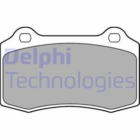 Bremsbelagsatz, Scheibenbremse Höhe 2: 69mm, Höhe: 69mm, Dicke/Stärke 1: 15mm, Dicke/Stärke 2: 15mm mit OEM-Nummer 30683858