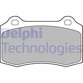Bremsbelagsatz, Scheibenbremse Art. Nr. LP1700 120,00€