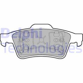 Bremsbelagsatz, Scheibenbremse Art. Nr. LP1701 120,00€