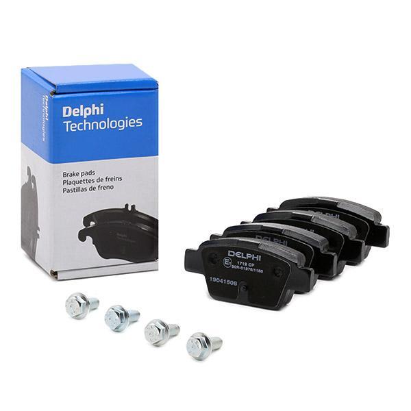 DELPHI Brake Pad Set, disc brake LP1719