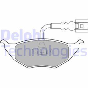 Bremsbelagsatz, Scheibenbremse Höhe 2: 50mm, Höhe: 48,22mm, Dicke/Stärke 2: 14mm mit OEM-Nummer 8Z0.698.151