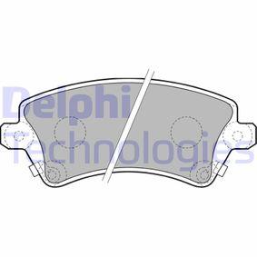 Bremsbelagsatz, Scheibenbremse Art. Nr. LP1737 120,00€
