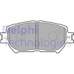 Bremsbelagsatz, Scheibenbremse Art. Nr. LP1738 120,00€
