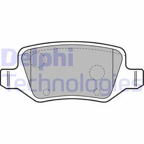 Bremsbelagsatz, Scheibenbremse Höhe 2: 41mm, Höhe: 41mm, Dicke/Stärke 1: 14mm, Dicke/Stärke 2: 14mm mit OEM-Nummer A 169 420 17 20