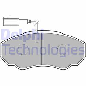Комплект спирачно феродо, дискови спирачки Артикул № LP1750 370,00BGN