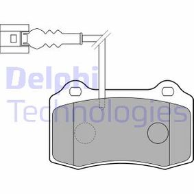 Bremsbelagsatz, Scheibenbremse Höhe: 69mm, Dicke/Stärke 2: 15mm mit OEM-Nummer 1ML.698.151