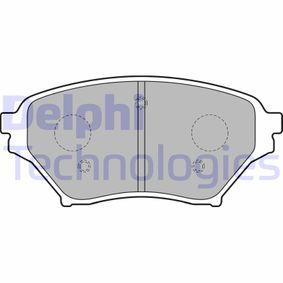 Bremsbelagsatz, Scheibenbremse Höhe: 58mm, Dicke/Stärke 2: 16mm mit OEM-Nummer N0Y93323Z
