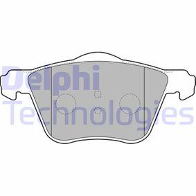 Brake Pad Set, disc brake Article № LP1787 £ 140,00