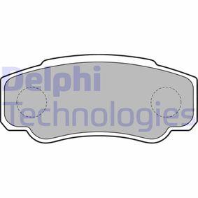 Bremsbelagsatz, Scheibenbremse Höhe: 50mm, Dicke/Stärke 2: 20mm mit OEM-Nummer 4254 68