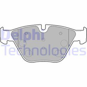 DELPHI  LP1794 Bremsbelagsatz, Scheibenbremse Höhe: 67,9mm, Dicke/Stärke 1: 19,9mm