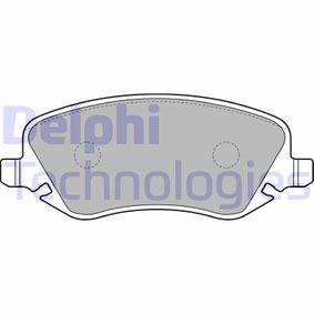 Bremsbelagsatz, Scheibenbremse Höhe: 59mm, Dicke/Stärke 2: 19mm mit OEM-Nummer 77362272