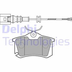 Golf 5 1.4TSI Sekundärluftpumpe DELPHI LP1815 (1.4 TSI Benzin 2008 CAXA)