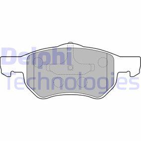 Bremsbelagsatz, Scheibenbremse Höhe: 69mm, Dicke/Stärke 2: 19mm mit OEM-Nummer 5015 365AA