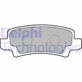 Bremsbelagsatz, Scheibenbremse Höhe: 38mm, Dicke/Stärke 2: 16mm mit OEM-Nummer 04466 02020
