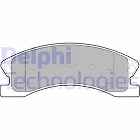 Bremsbelagsatz, Scheibenbremse Höhe: 60mm, Dicke/Stärke 2: 19mm mit OEM-Nummer 5093 260AA