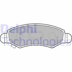 Bremsbelagsatz, Scheibenbremse Höhe 2: 44mm, Höhe: 44mm, Dicke/Stärke 1: 16mm, Dicke/Stärke 2: 16mm mit OEM-Nummer 55810 84E01 000