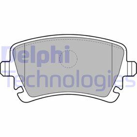 Bremsbelagsatz, Scheibenbremse Höhe: 59mm, Dicke/Stärke 2: 18mm mit OEM-Nummer 4B3698451A