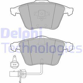 Bremsbelagsatz, Scheibenbremse Höhe: 73mm, Dicke/Stärke 2: 20mm mit OEM-Nummer 4F0698151B