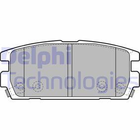 Bremsbelagsatz, Scheibenbremse Höhe: 46mm, Dicke/Stärke 2: 16mm mit OEM-Nummer 58302 H1A00
