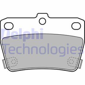 Brake Pad Set, disc brake LP1942 RAV 4 II (CLA2_, XA2_, ZCA2_, ACA2_) 2.4 4WD MY 2003