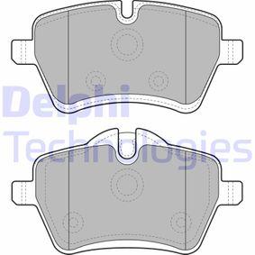 Bremsbelagsatz, Scheibenbremse Höhe 2: 71mm, Höhe: 64mm, Dicke/Stärke 2: 18mm mit OEM-Nummer 3411 6 778 320