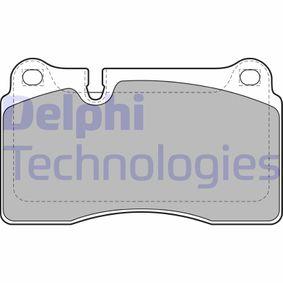 Zestaw klocków hamulcowych, hamulce tarczowe Wys.: 77,2mm, Grubożć 2: 16mm z OEM Numer 8J0698151M