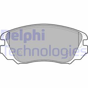 Bremsbelagsatz, Scheibenbremse Höhe: 60mm, Dicke/Stärke 2: 19mm mit OEM-Nummer 16 05 624