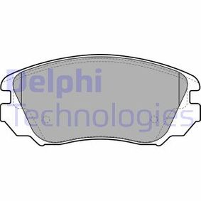 Bremsbelagsatz, Scheibenbremse Höhe 2: 60mm, Höhe: 60mm, Dicke/Stärke 1: 19mm, Dicke/Stärke 2: 19mm mit OEM-Nummer 1323 7750