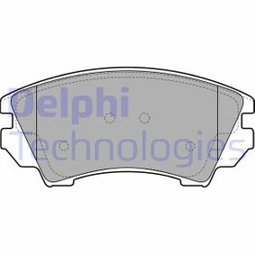 Brake Pad Set, disc brake Height 2: 67mm, Height: 67mm, Thickness 1: 19mm, Thickness 2: 19mm with OEM Number 16 05 186
