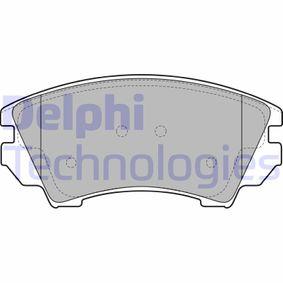 Brake Pad Set, disc brake Article № LP2081 £ 140,00