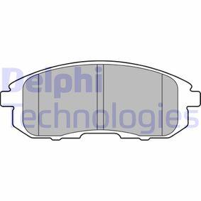Bremsbelagsatz, Scheibenbremse Art. Nr. LP2148 120,00€