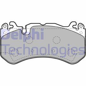 Brake Pad Set, disc brake LP2149 E-Class Saloon (W212) E 63 AMG 5.5 4-matic (212.076) MY 2014
