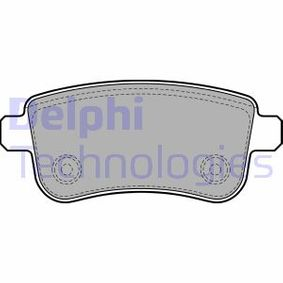 Bremsbelagsatz, Scheibenbremse Art. Nr. LP2153 120,00€