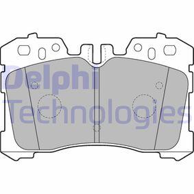 Bremsbelagsatz, Scheibenbremse Höhe 2: 88mm, Höhe: 88mm, Dicke/Stärke 1: 18mm, Dicke/Stärke 2: 18mm mit OEM-Nummer 044650W110