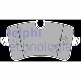 Kit de plaquettes de frein, frein à disque Hauteur 2: 58mm, Hauteur: 60mm, Epaisseur 2: 17mm avec OEM numéro 4H0698451M