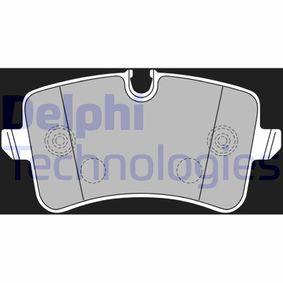 Kit de plaquettes de frein, frein à disque N° de référence LP2226 120,00€