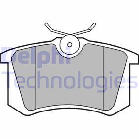 Bremsbelagsatz, Scheibenbremse Höhe: 53mm, Dicke/Stärke 2: 15mm mit OEM-Nummer 1H0698451