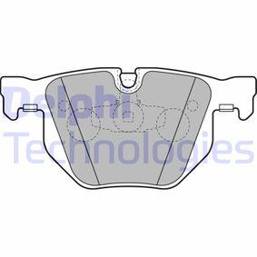 Brake Pad Set, disc brake LP2256 3 Saloon (E90) 330d 3.0 MY 2008