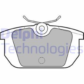 Bremsbelagsatz, Scheibenbremse Breite 1: 88mm, Breite 2: 88mm, Höhe 1: 44mm, Höhe 2: 44mm, Dicke/Stärke 1: 14mm, Dicke/Stärke 2: 14mm mit OEM-Nummer 5892729