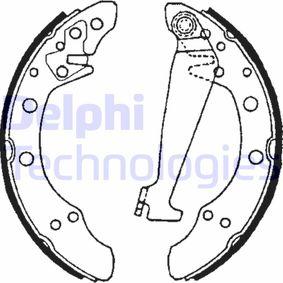 Bremsbackensatz Breite: 40mm mit OEM-Nummer 1H0698525X