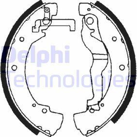 Bremsbackensatz Breite: 55mm mit OEM-Nummer 701609531