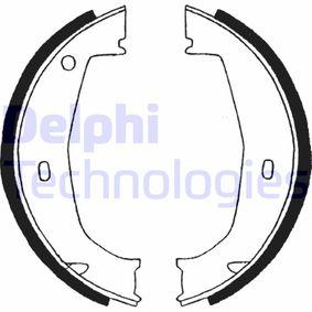 Brake Shoe Set, parking brake Ø: 160mm, Width: 20mm, Ø: 160mm with OEM Number 34416761291