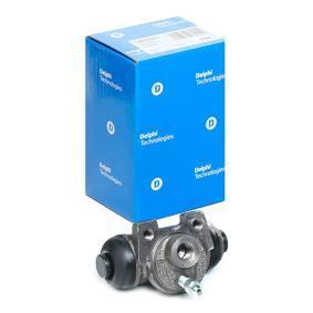 DELPHI  LW30005 Radbremszylinder Bohrung-Ø: 20,6mm