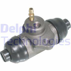 Radbremszylinder Bohrung-Ø: 25mm mit OEM-Nummer 281611047