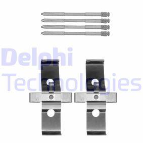 DELPHI  LX0548 Zubehörsatz, Scheibenbremsbelag