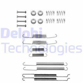 DELPHI Zubehörsatz, Bremsbacken LY1182 für AUDI 80 (8C, B4) 2.8 quattro ab Baujahr 09.1991, 174 PS