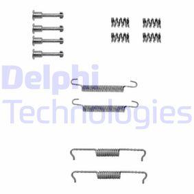 Zubehörsatz, Feststellbremsbacken LY1330 X3 (E83) 2.0 d Bj 2006